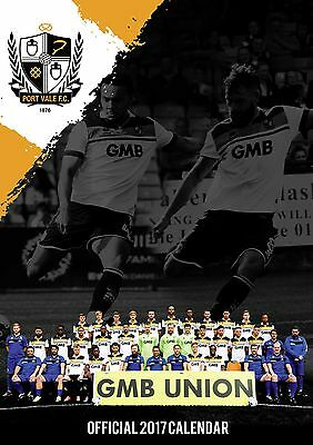 Port Vale FC Official 2017 Calendar