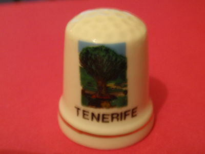 'TENERIFE' - Collector's Thimble