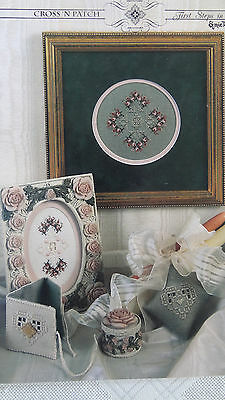 First Steps in Hardanger by Emie Bishop = Cross N Patch  30 page booklet As New