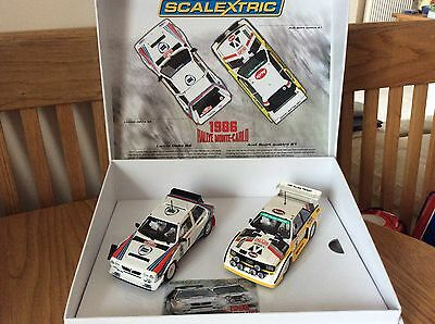 Scalextric C3480A 1986 Rallye Monte Carlo Limited Edition NEW Mint Boxed