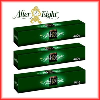 1200g After Eight Pfefferminztäfelchen 3x400g Big Pack MHD: 01/2018
