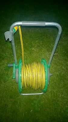 Hose and reel 30 m - great condition