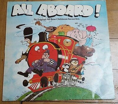 All Aboard! 24 original all-time children's favourites on vinyl