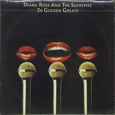 Diana Ross & The Supremes '20 Golden Greats' Uk Lp