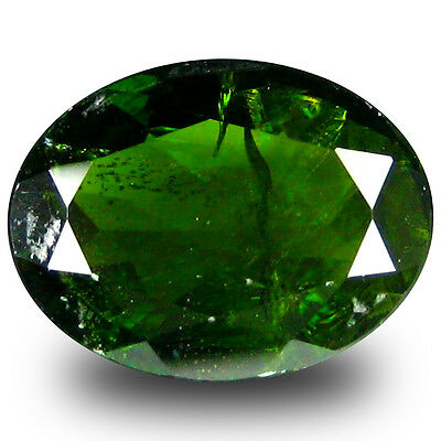 1.62 ct  Charming Oval Shape (9 x 7 mm) Green Chrome Diopside Natural Gemstone