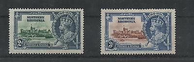 Northern Rhodesia 1935 Mint Stamps No Gum