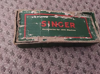 Old Singer Sewing Machine Parts