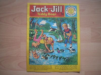 Jack And Jill And Teddy Bear Comic, 6Th July 1974