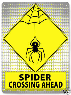 Black Widow Spider Metal Sign for spider tank spiderman boys funny gift art 066