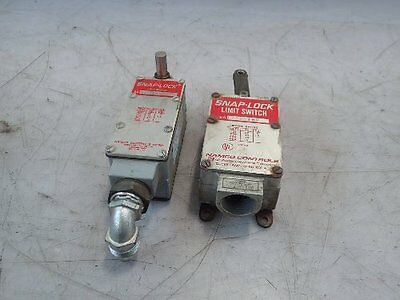 2 Assorted Snap-Lock/namco Limit Switches, 17031100/700-09003