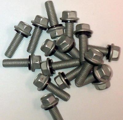 "Duro Steel Building 1500 Count 3/8""x 1"" Grain Bin Replacement Bolts Washers Nuts"