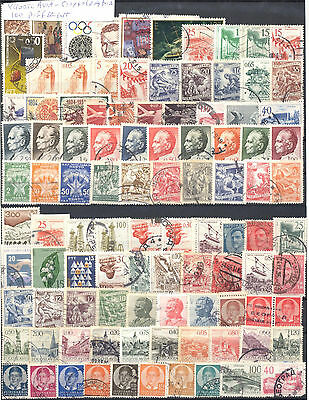 Yugoslavia Selection Of 100 Different Used Stamps. Combined Shipping