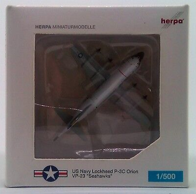 Herpa 1:500 518178 P-3C Orion United States Navy (VP-23 - Seahawks) LJ/161000