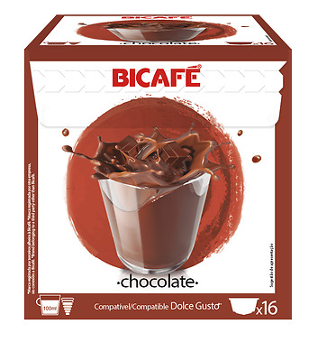 BiCafe® Hot Chocolate Dolce Gusto® Compatible Coffee Capsules Pods