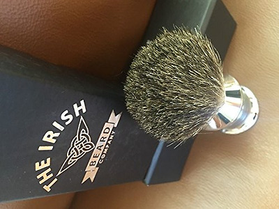 Premium Handmade Badger Hair Shaving Brush - Crafted to Give you the Best Shave