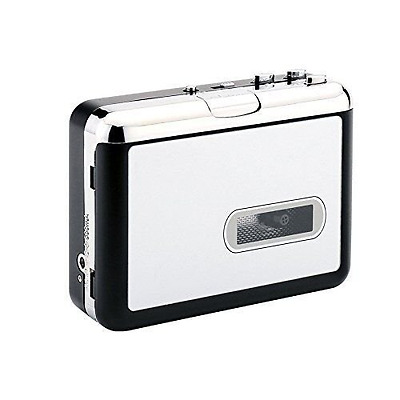 Digitnow!Portable Tape Player Captures MP3 Audio Music via USB - Compatible with