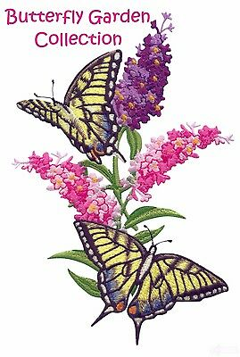 Butterfly Garden Collection - Machine Embroidery Designs On Cd