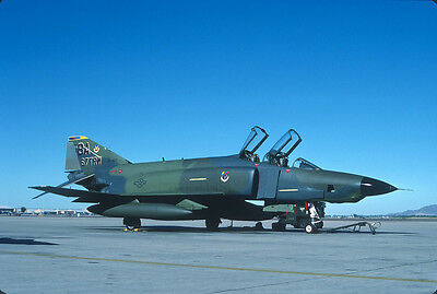Original Kodak aircraft slide,RF-4C BA-66-467 at 19-July-1987