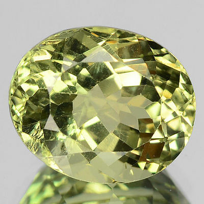 2.62Cts - Natural, Green Apatite, Oval, VS, Mozambique, 1Pcs, Unheated