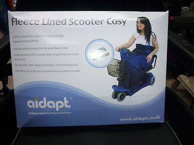 Aidapt Fleece Lined Scooter Cosy protection from the wind and rain