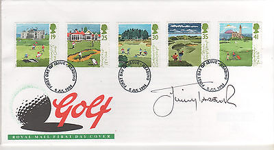 Jimmy Tarbuck - Signed - Golf First Day Envelope