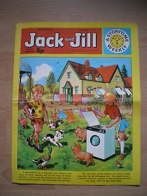 Jack And Jill Comic - 24Th March 1973