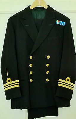 Royal Navy officer's suit- EXTREMELY RARE with 'Para Wings' and 'Commando Dagger