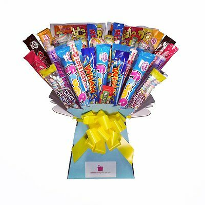 Mega XL Retro Candy Sweets Bouquet, Chocolate Hamper Tree