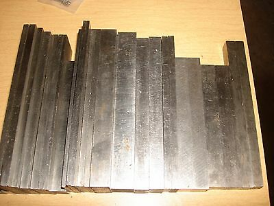 Machinist Made Parallel Lot ,  8 Pairs And 12 Singles