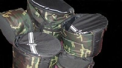 """WARNING NOT THE FULL SET DDRUM CAMOUFLAGE HEAVY DUTY SNARE DRUM BAG 12"""" x 5.5"""""""
