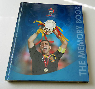 UEFA EURO 2008 Memory book, hard back edition