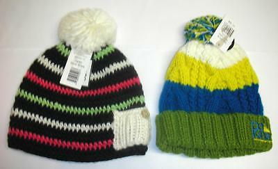 Dakine Kids Chance and Dylan Beanies Warm Winter Hats for Big Kids, multi colors