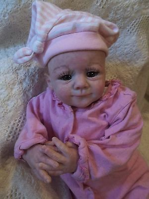 Reborn Newborn Baby Changeling Fairy Art Doll Unique Mythical Infant