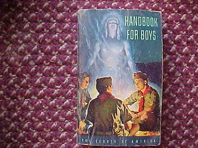 Vintage BOY SCOUTS of AMERICA Handbook for Boys 1948 5th Edition 1954 Ads BSA