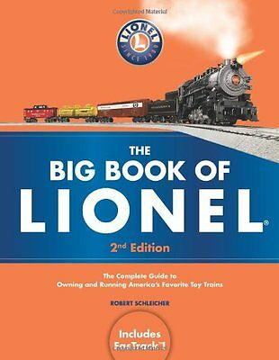 THE BIG BOOK OF LIONEL Book Second Edition Toy Train Locomotive Car Track NEW.