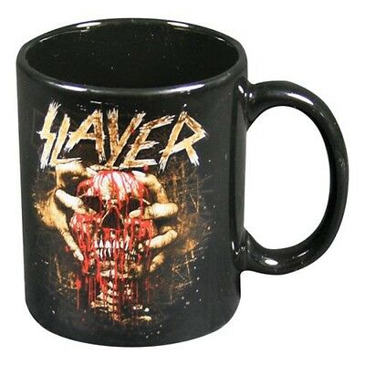 Slayer Clench Skull Mug Heavy Metal Thrash