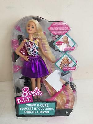 Barbie Crimp and Curl Doll Brand New Box Damaged