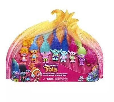 Dreamworks Trolls Story Collection Pack - 4 inch Figures Poppy 8 Figure Play Set