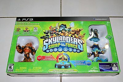 skylanders swap force starter pack for ps3 brand new and sealed