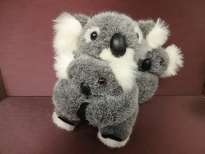 Mother & Baby Stuffed Koala Bears Plush Toy Boys & Girls Nice