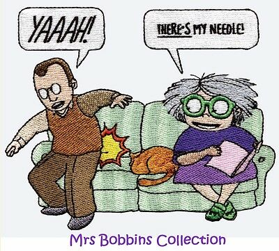 Mrs Bobbins Collection - Machine Embroidery Designs On Cd