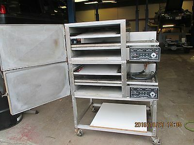 2 Lincoln Impinger Ii 1100 Series Convection Conveyor Stackable  Pizza Ovens