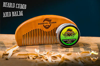 Essential Beards -  Beard Balm and Comb Made in the UK
