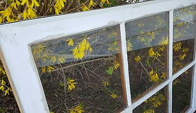 VINTAGE SASH ANTIQUE WOOD WINDOW FARM FRAME PINTEREST RUSTIC DISTRESSED 36x27