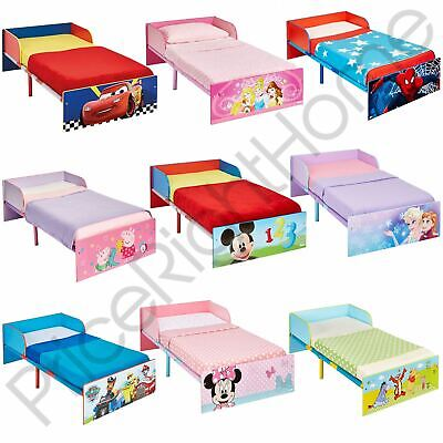Official Character Toddler Bed With Side Panel - Paw Patrol Pj Masks & More