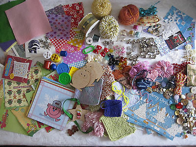 Craft Paper,card,beads,buttons,thread,wire,cross Stitch, Skulls,fabric Squares