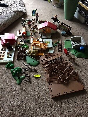 playmobil 4190 horse stables