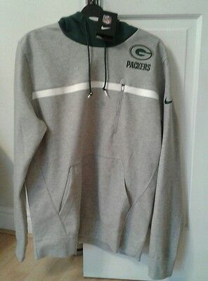 Nike Green Bay Packers NFL American Football  Hoodie  Pullover Sweatshirt Large
