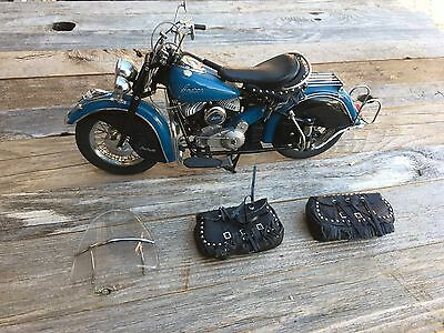 1948 Indian Chief motorcycle 1:10 Scale DieCast Metal Model