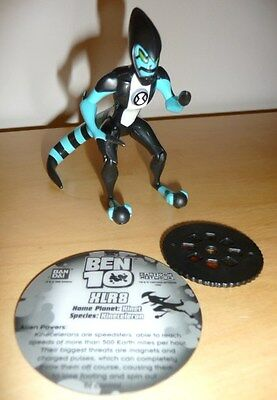 BEN 10 Action Fig SERIES 1 - Holographic Card & Animation disc - XLR8